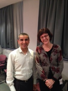 Anil Tandon and Odette Spruyt